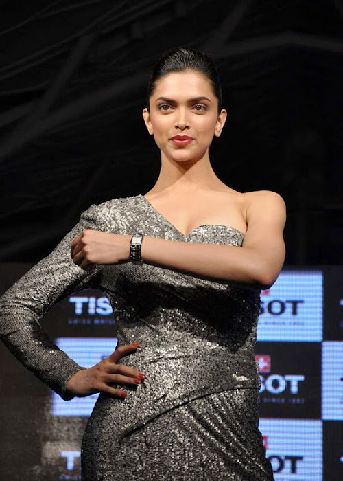 deepika padukone at tissot watches new spicy photo gallery