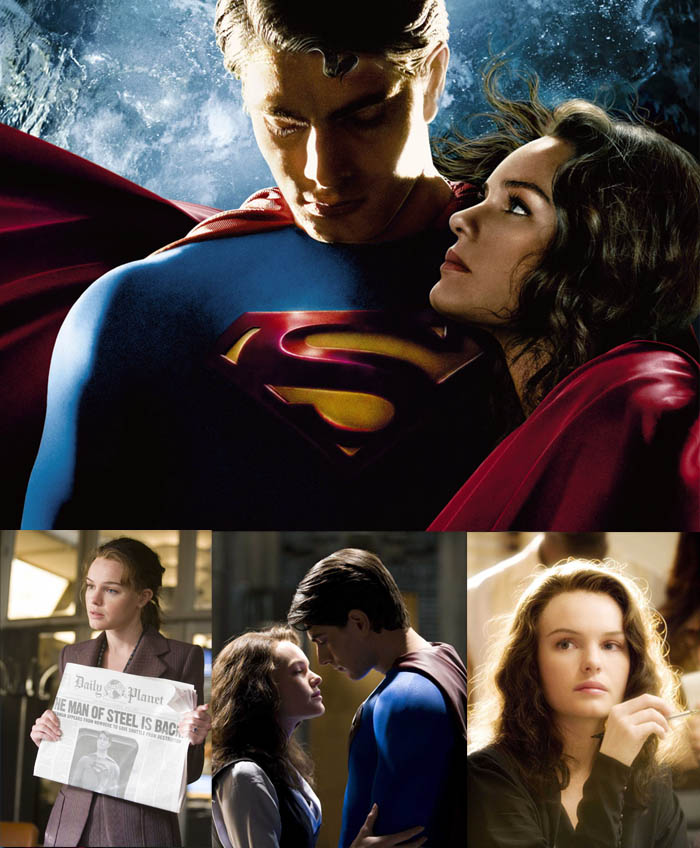 A GAROTA DOS OLHOS COLORIDOS_olhos de duas cores_Kate Bosworth_Superman Returns_Super homem_Lois Lane_