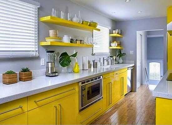 ini 10 skema warna cat ruang dapur minimalis yang cantik
