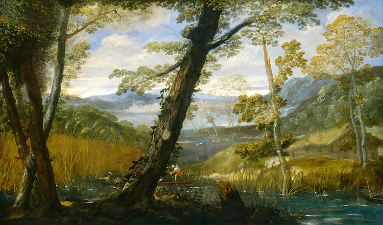 Annibale Carracci - River Landscape