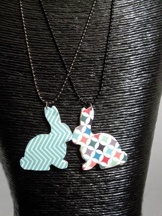 Rabbit necklaces, Mia Peony, Bird's Yard Sheffield