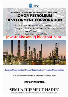 Johor Petroleum Development Corporation Kerja Kosong