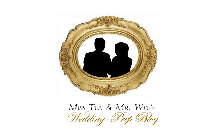 Miss Tea's Wedding-Prep Blog