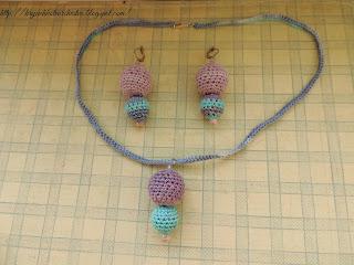 вязание крючком, вязаные украшения,