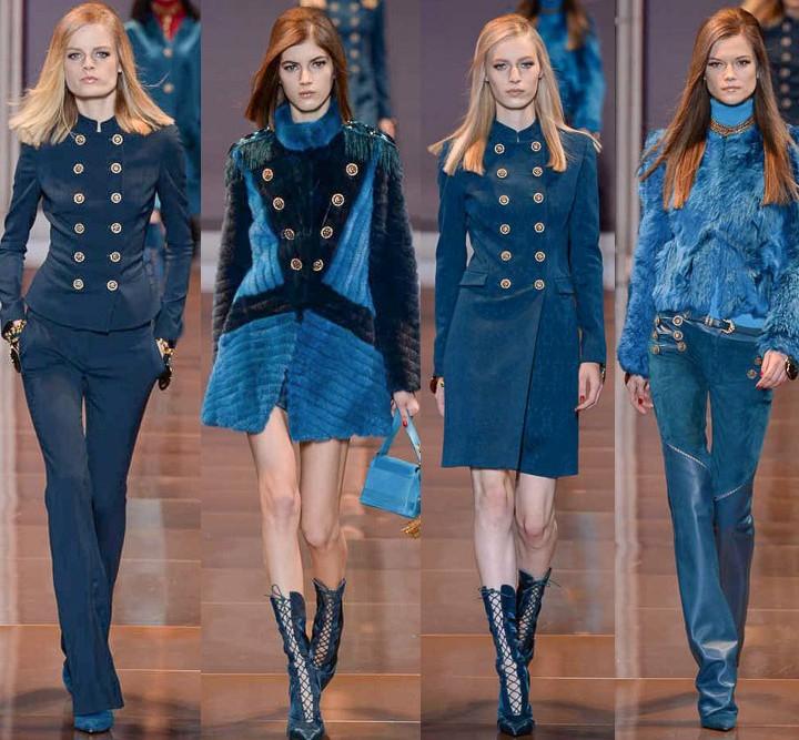versace, fall 2014, milan fashion week, mfw, runway