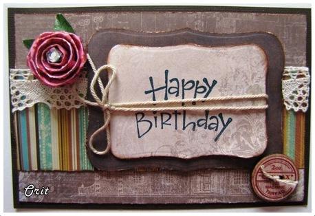The Creative Light Happy Birthday Card
