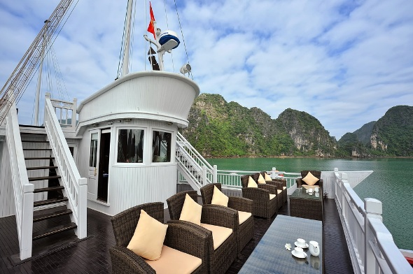 Outside Lounge - Paradise Luxury Cruise