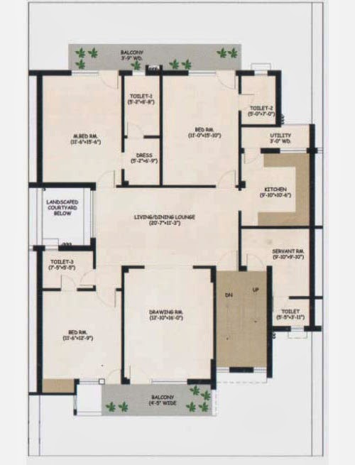 Wave City Floor Plan 8