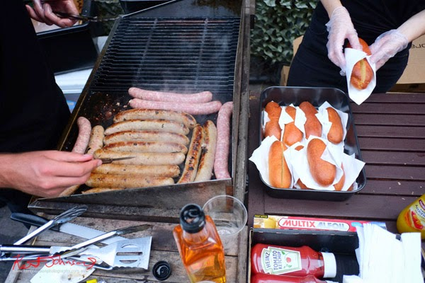 The making of the Ron Jeremy hot dog; The Pool Collective book launch party.