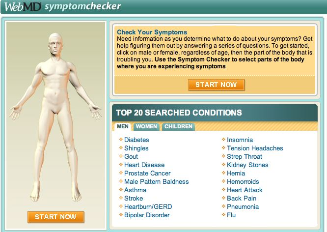 Common Medical Symptoms Checker