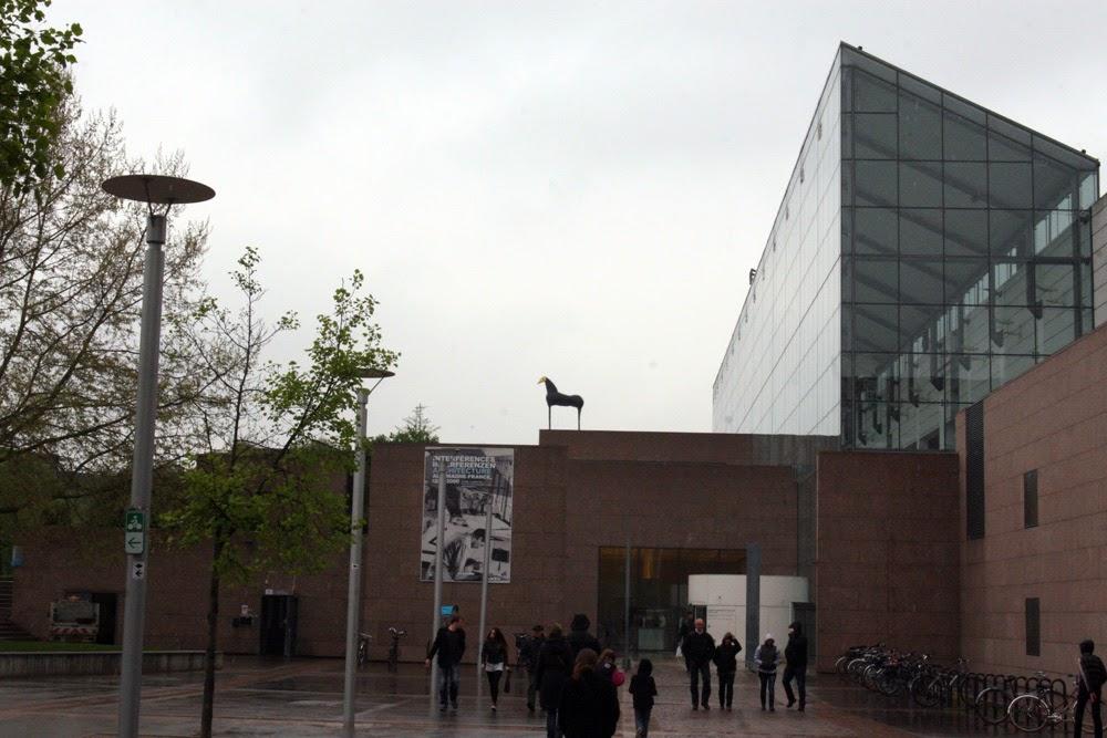 Museum voor de moderne kunst in Straatsburg, Frankrijk
