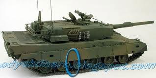 Tank Type-90 Japan