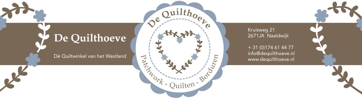 Workshop APPLIQUEREN op 6 februari bij De Quilthoeve