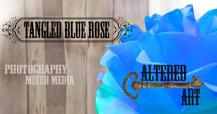 Tangled Blue Rose