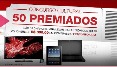 Concurso Cultural 50 Premiados Sky