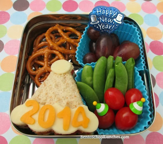 Happy New Year 2014, Bento School Lunch