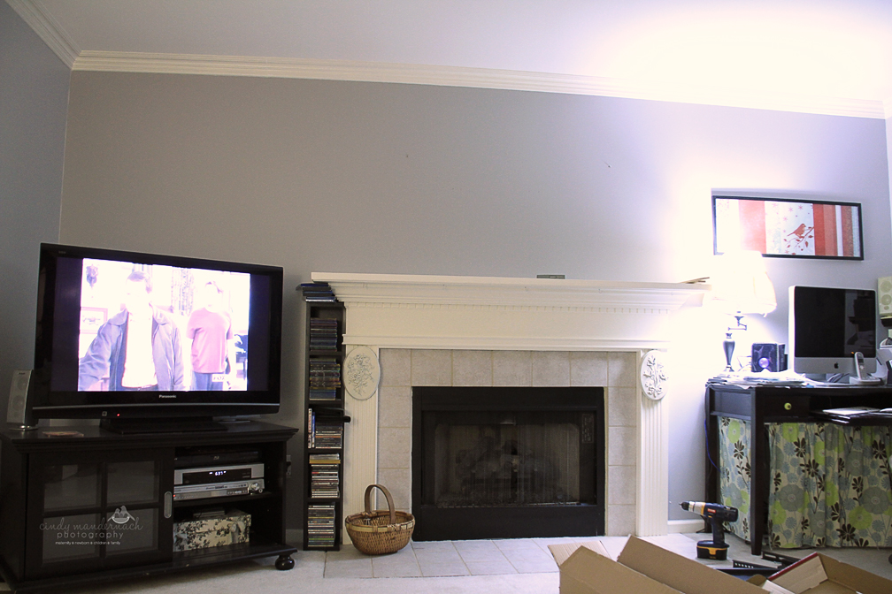 the tv wall mount is done. : how-to-put-out-a-fireplace - designwebi.com