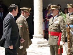 Reconocimiento de la Inspección General del Ejército a Augusto Ferrer-Dalmau