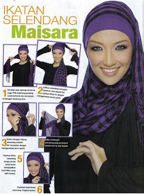 Cara Memakai Jilbab Modern Islami