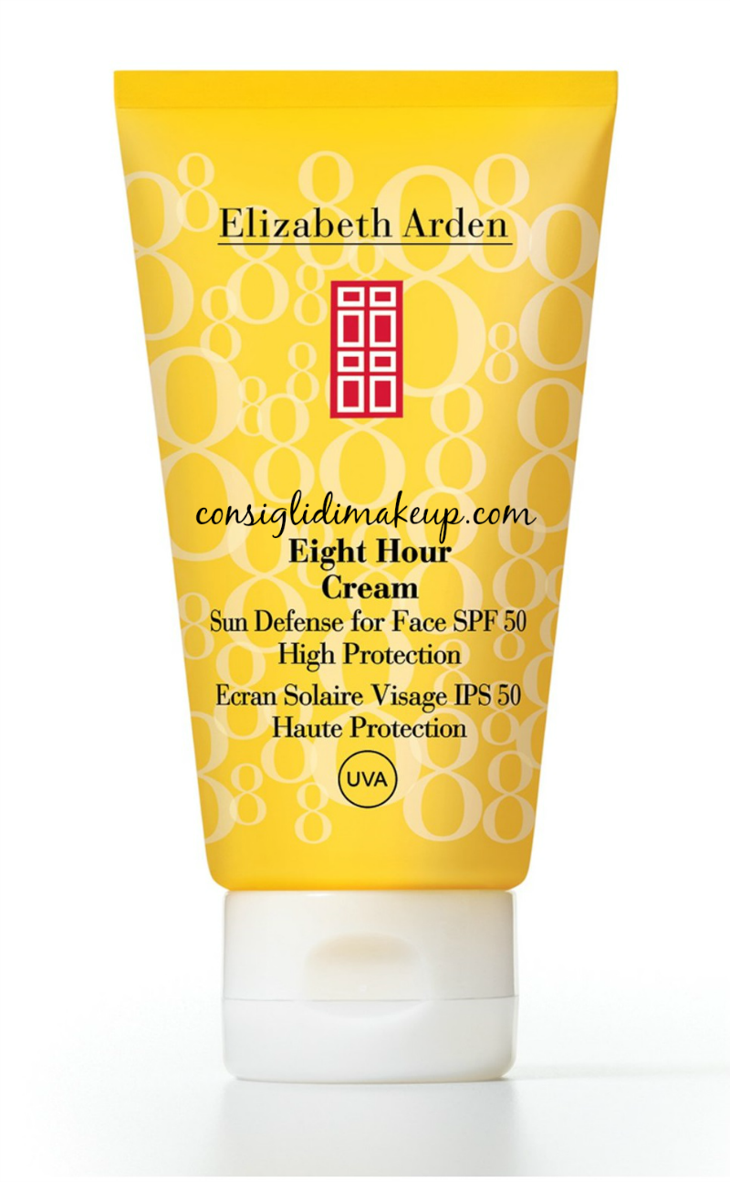 Sun Defense For Face SPF50 Eight Hour Cream Elizabeth Arden