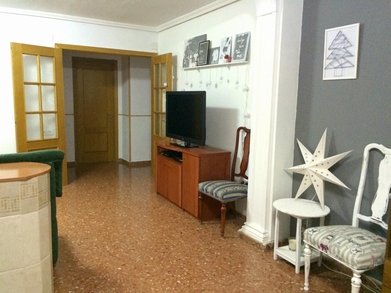 El blog de lorenna ideas para decorar una pared del sal n - Decorar paredes salon ...