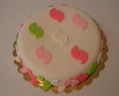 Torta decorada con Cubierta Roy