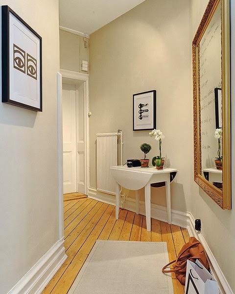 Ideas para decorar pasillos o corredores - Espejos para pasillos ...
