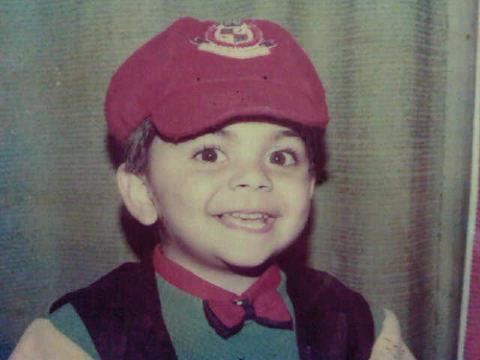 Virat Kohli Rare child...