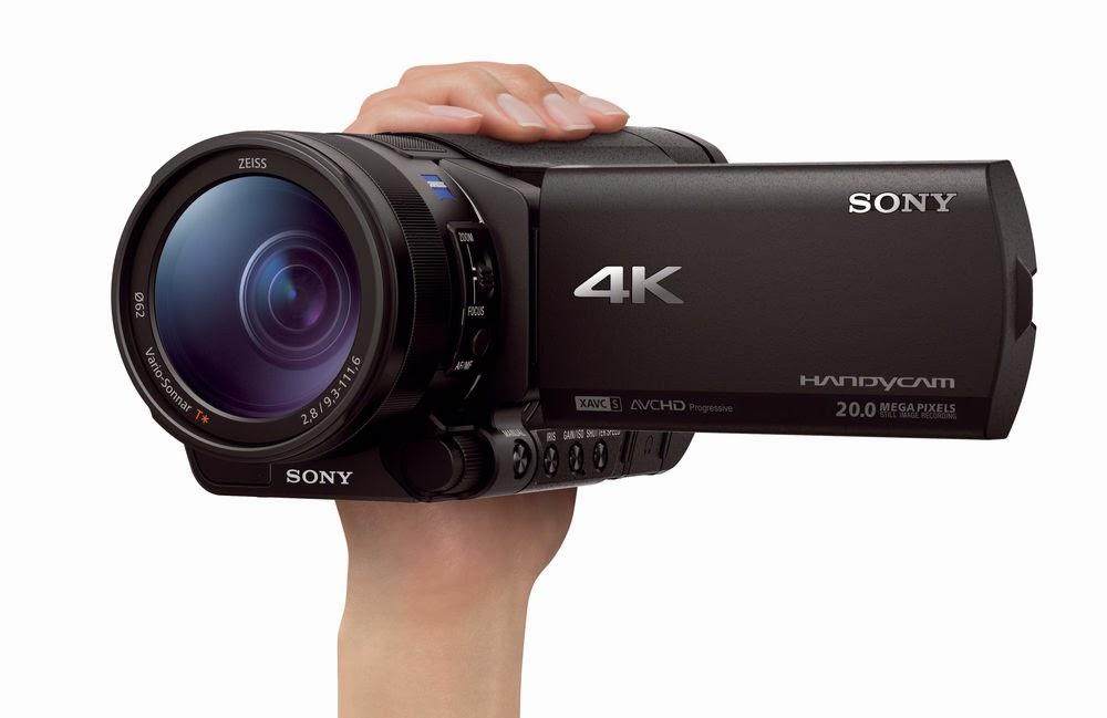 4K Sony FDR- AX100