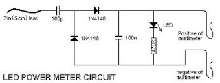 LED Power Meter circuit