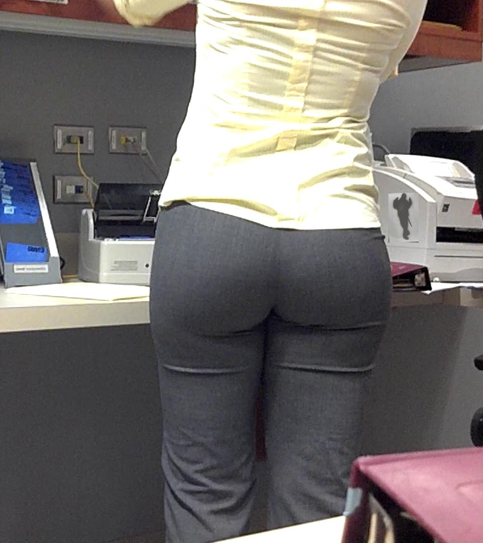 Big office ass