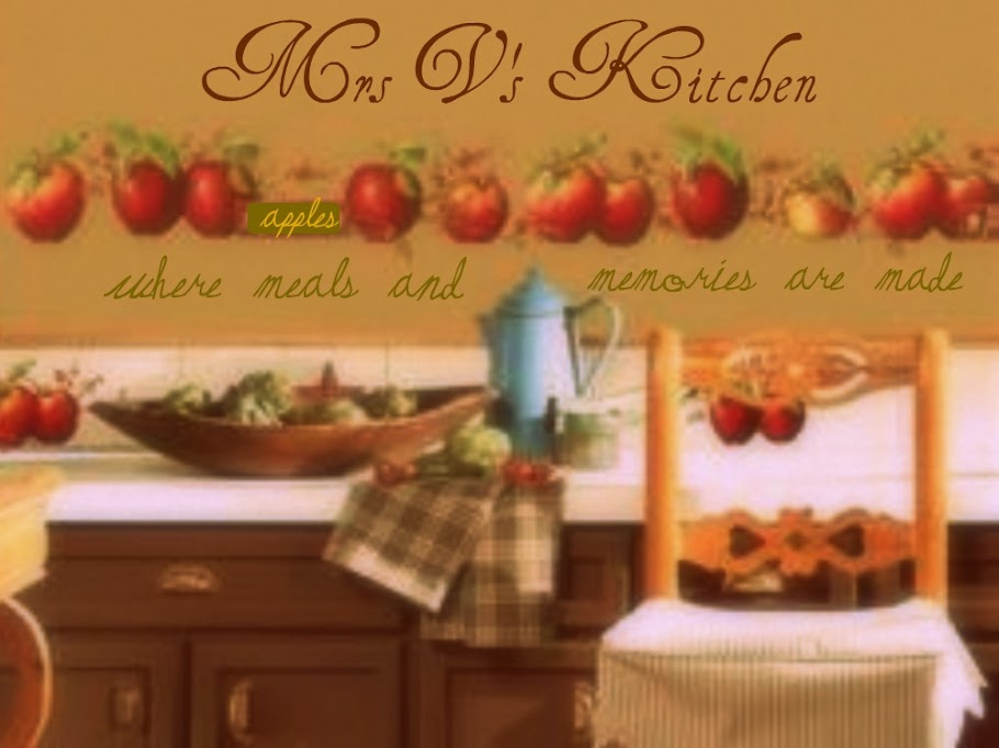Mrs. V's Kitchen Where Meals and Memories Are Made