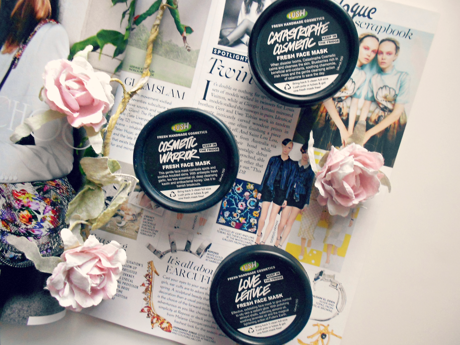 LUSH: Battle Of The Face Masks