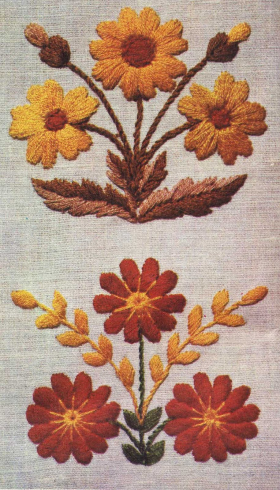 Вышивка полтавской гладью пошаговое