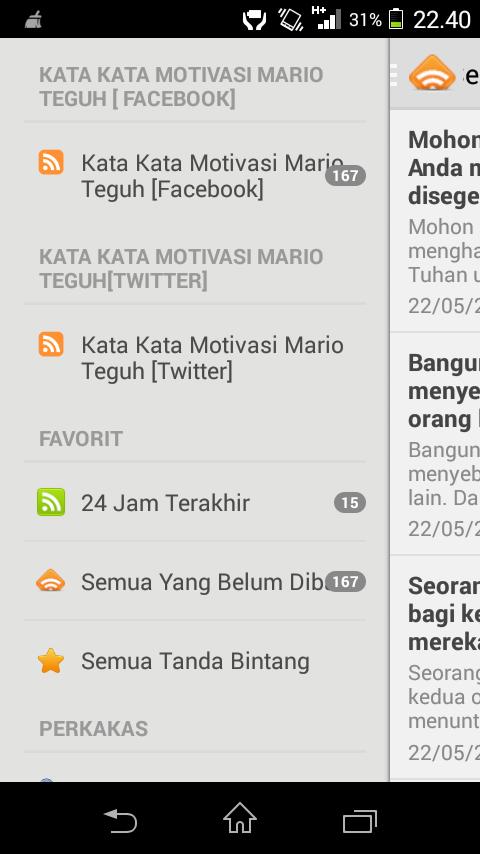 Download Aplikasi Buat Kamu Yang Suka Kata Motivasi Mario Teguh