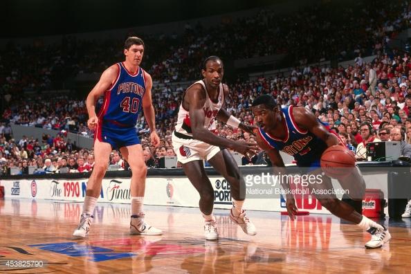 DAR Sports: 1990 NBA Finals- Detroit Pistons vs Portland Trailblazers - DefineARevolution.com