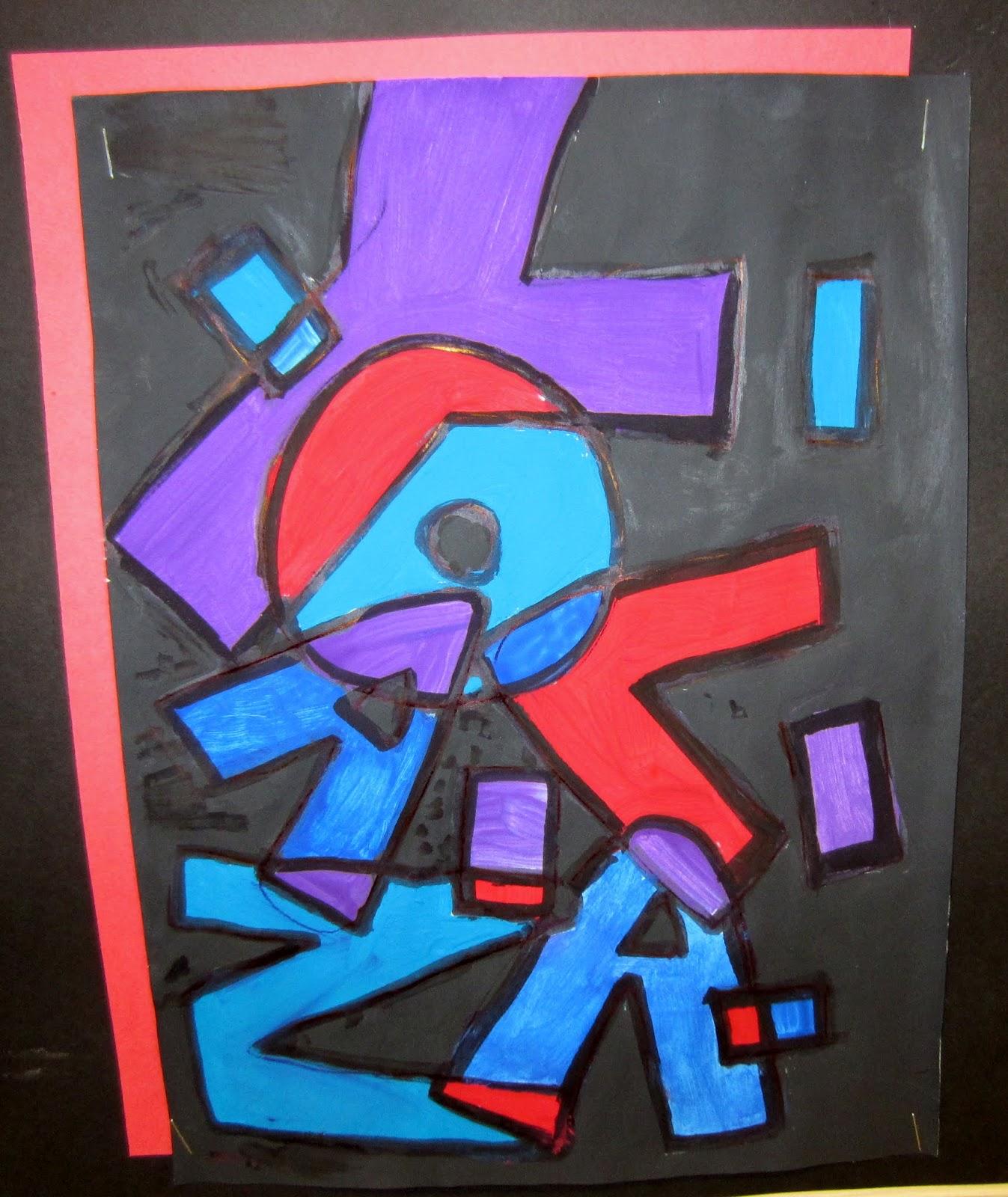 Mrs Art Teacher Hidden Names Painting