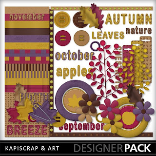KapiScrap and Art Has Released Some Kits At My Memories and KapiShop