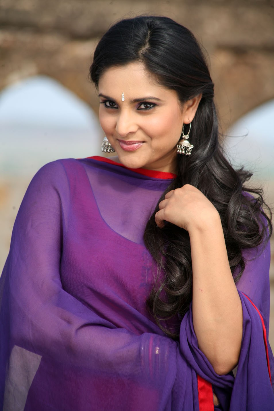 Women Hairstyle Kannada Actress Ramya Latest Spicy Photos