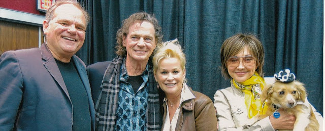 Left to right: Larry Weir,  BJ Thomas, Lorrie Morgan, Pam Tillis & Bailey
