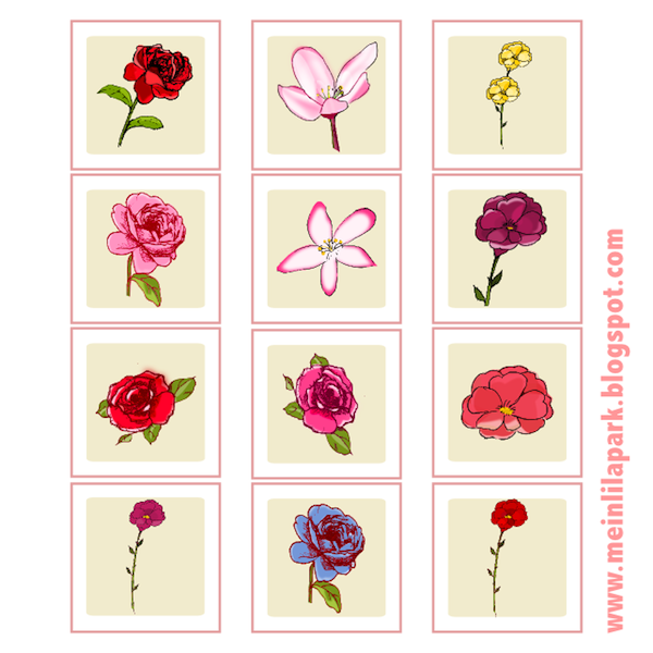 Today I created these free printable flower tags for you. I made the ...