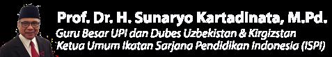 Sunaryo Kartadinata | Guru Besar UPI