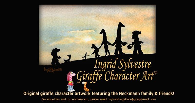 Ingrid Sylvestre Giraffe Character Art