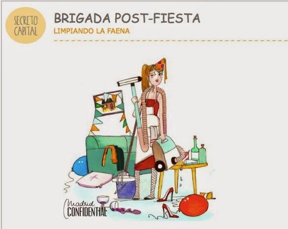 VipandSmart Madrid Confidential Brigada postfiesta