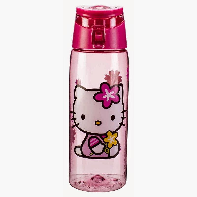 Gambar lucu botol minum untuk anak gambar hello kitty