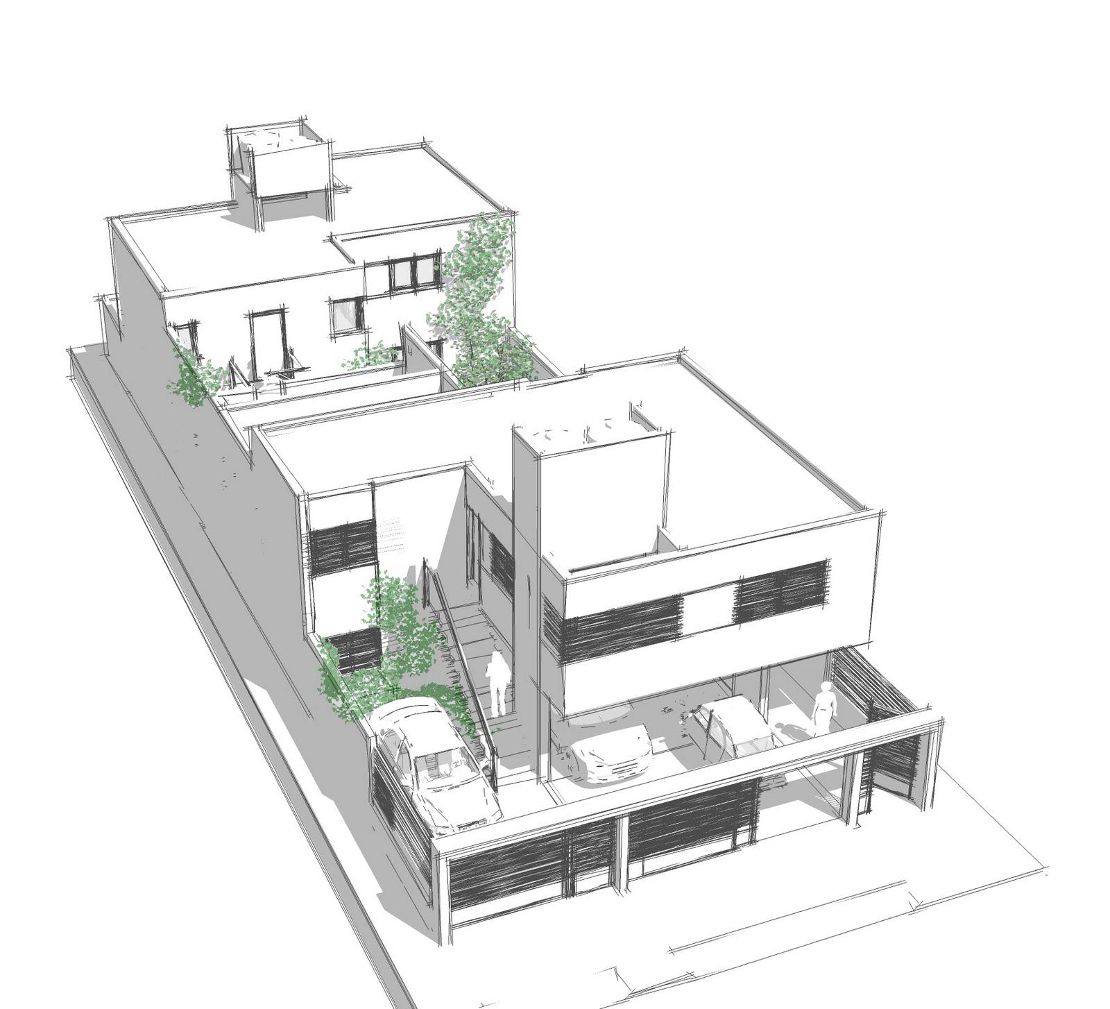 C s taller de arquitectura conjunto de departamentos aa for Portadas de arquitectura