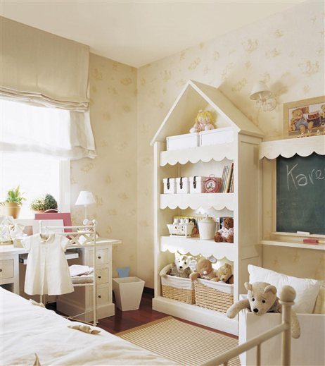 Modern country style girls 39 bedrooms colour schemes - Habitaciones shabby chic ...