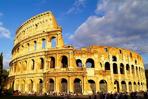 El Coliseo Romano de Italia