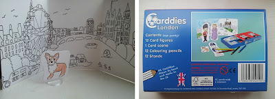 Carddies, colouring toys, children colouring