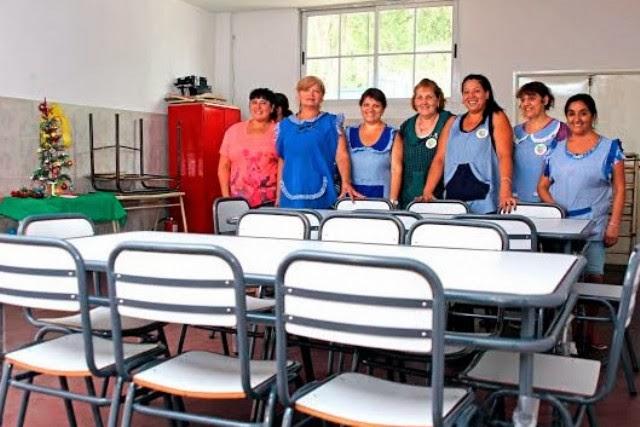 Zabaleta educaci n de la naci n y suteba aportaron for Mobiliario para estudiantes